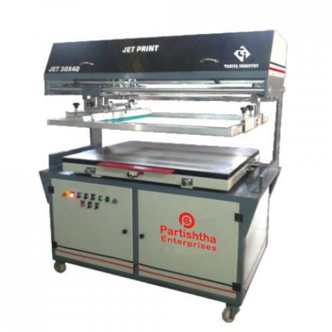 Fully Automatic JET Flat Screen Printing Machine