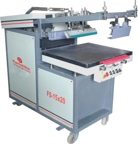 Semi-Automatic Wedding Card Screen Printing Machine