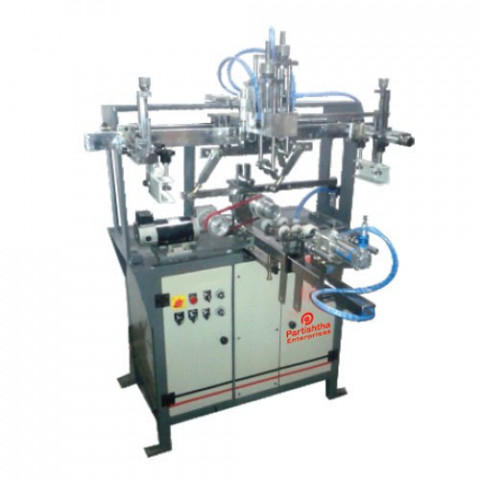 PE-RS 150 Deluxe Round Screen Printing Machine
