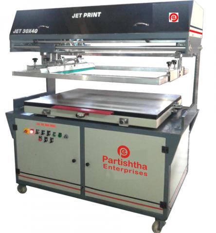 Semi-Automatic Non-Woven Bag Screen Printing Machine