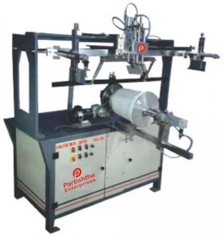 Semi-Automatic Bucket Printing Machine