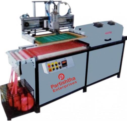 Roll To Roll Ribbon Screen Printing Machine