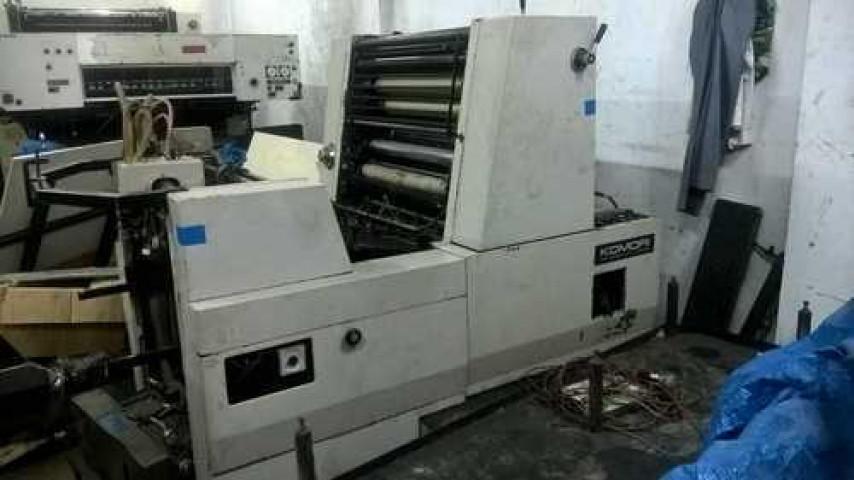 Used Komori 1 Color Printing Machine