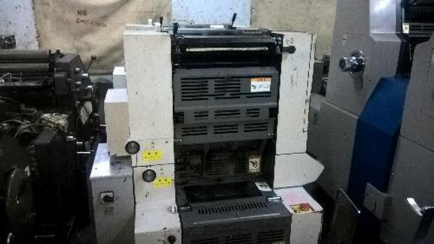 Used Hamada 234 Mini Offset Printing Machine