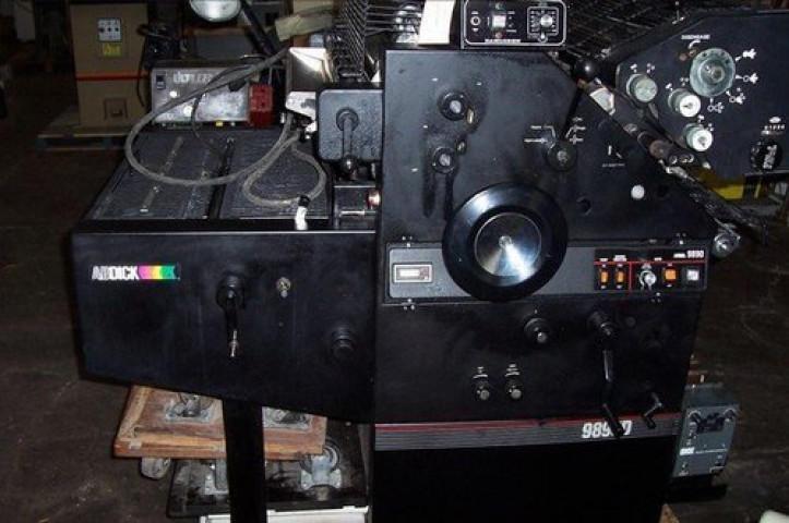 Used Ab Dick 9890 Mini Offset Printing Machine