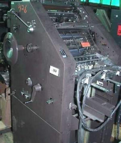 Used Ab Dick 8815 Offset Printing Machine