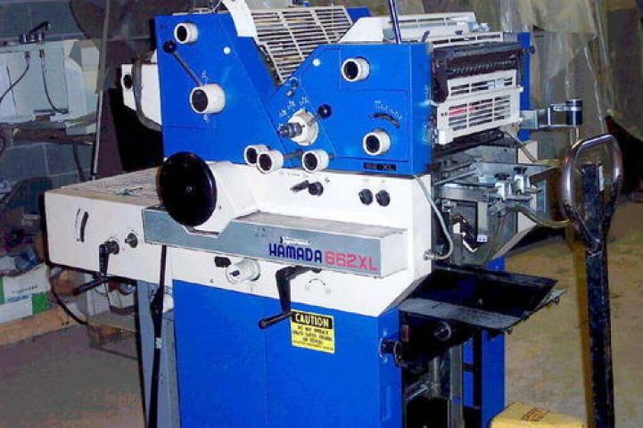 Used Hamada 661xl Offset Printing Machine