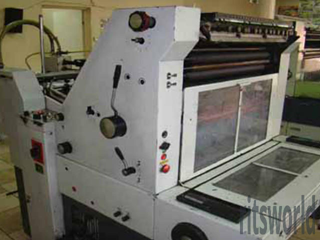 Adast Dominant 714, 1981 Offset Printing Machine