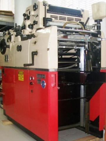 Used Hamada 665 Mini Offset Printing Machine
