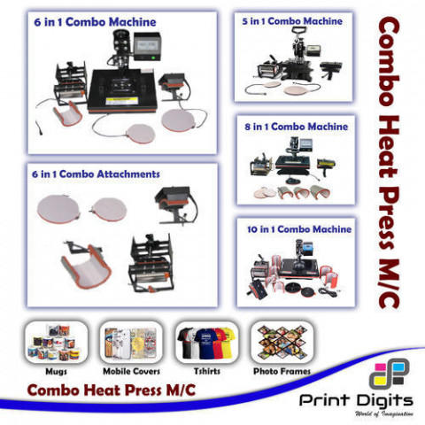 6 In 1 Combo Heat Press