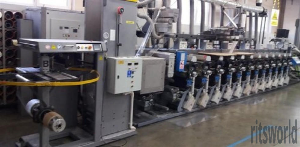 Gallus EM 280 8 Color Flexo Machine for Industrial