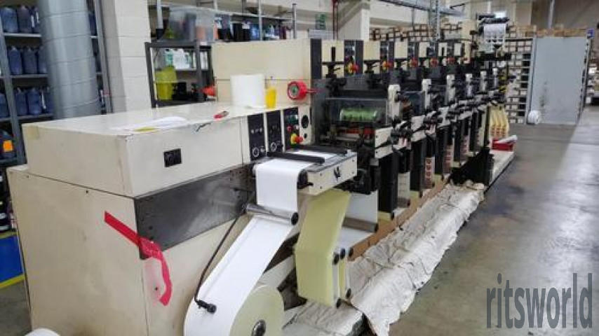Used Nilpeter Color Flexo Machine