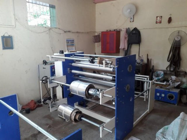 Paper Plate Semi- Automatic Sheet Lamination Machine