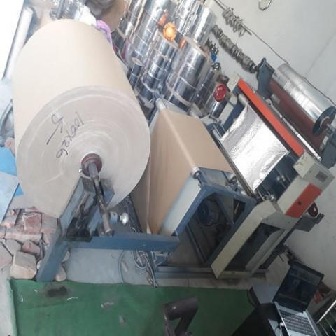 Automatic Dona Silver Paper Lamination Machine