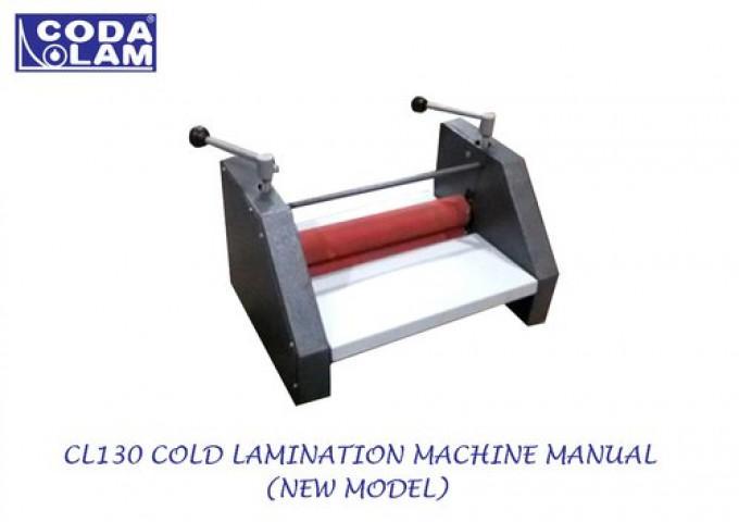 Cl130 Cold Lamination Machine New Model
