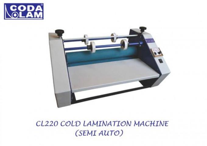 CL220 Cold Lamination Machine Semi Automatic