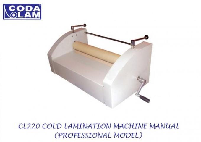 CL220 Cold Lamination Machine Manual  Professional Model