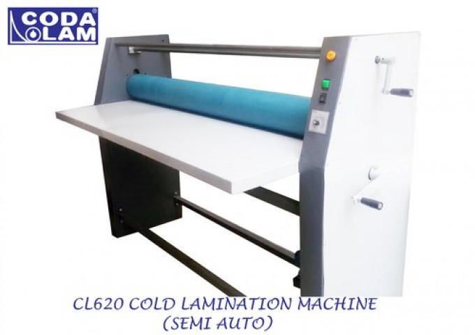 Cl620 Cold Lamination Machine Semi Auto