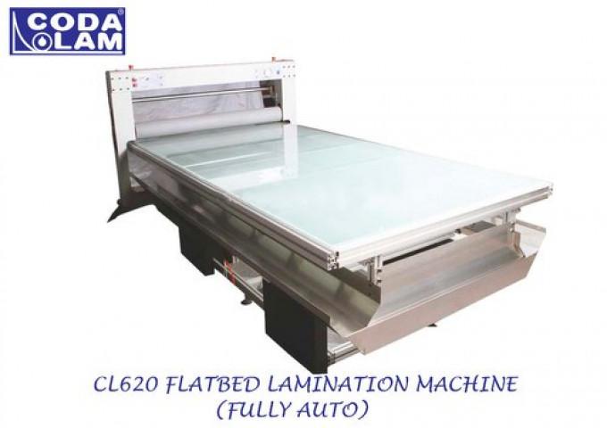Cl620 Flatbed Lamination Machine