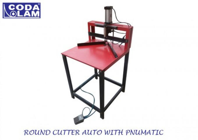 Round Corner Cutter Auto With Pneumatic System