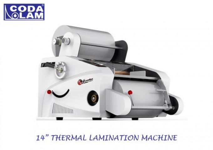 """14"""" Thermal Lamination Machine Table Top Model"""