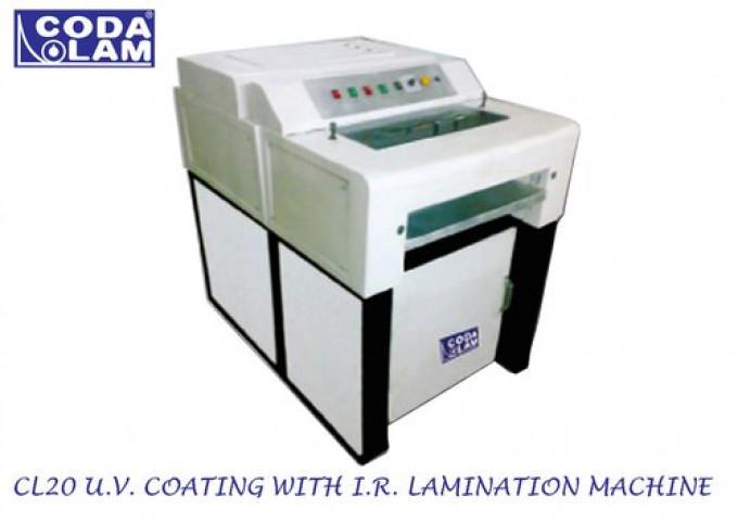 """20"""" U.V. With I.R Coating Machine"""