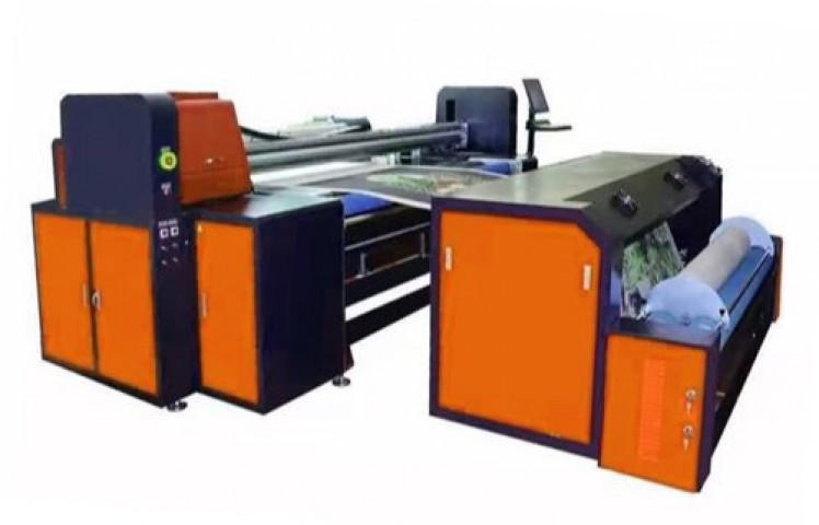 Placement Printing Machine For Embroidery And Jacquard Fabric