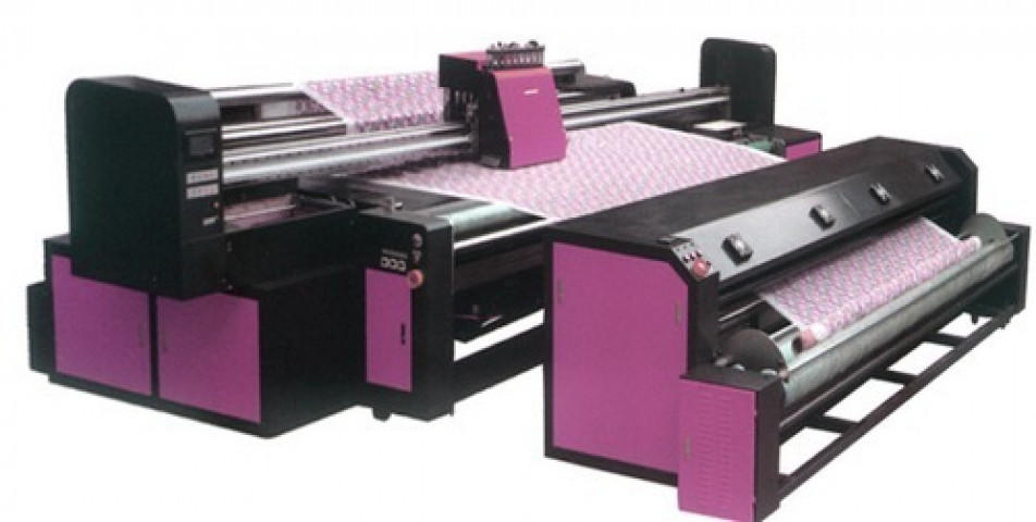 Digital Printing On Embroidery Fabric Machine