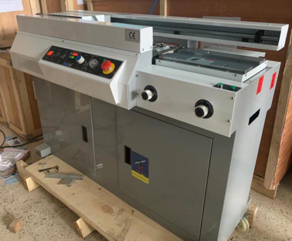 Single Clamp Perfect Binding Machine Model - 50e