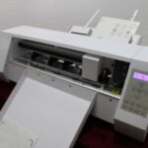 Toyo cut Digital Label Cutting Machine Auto Feed-Model - A13