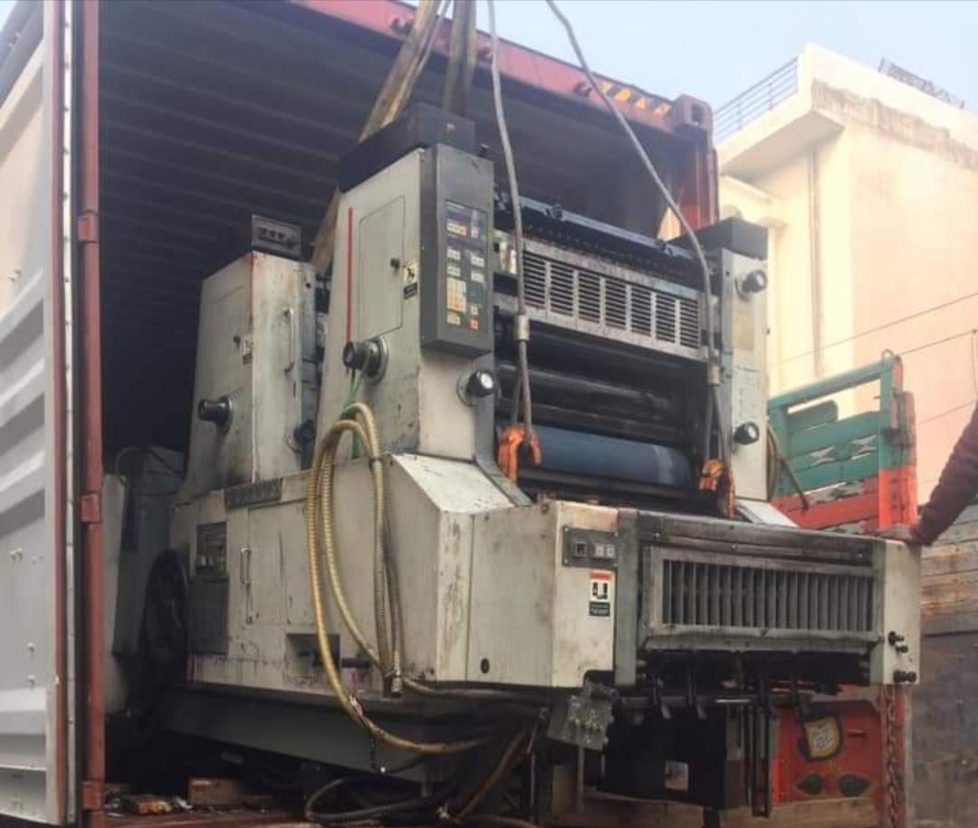 Used Komori Sprint 226 Semi-Automatic Offset Printing Machine
