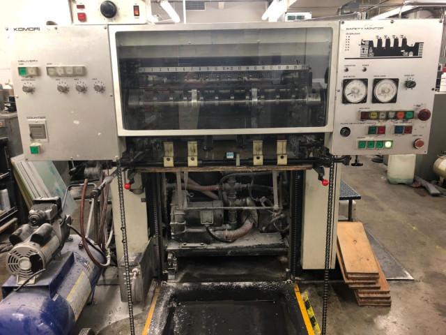 Used Komori L426 Offset Printing Machine