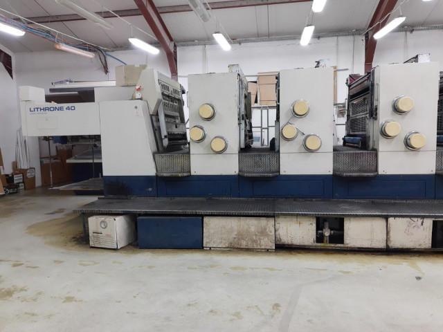 Used  Komori L440 Offset Printing Machine