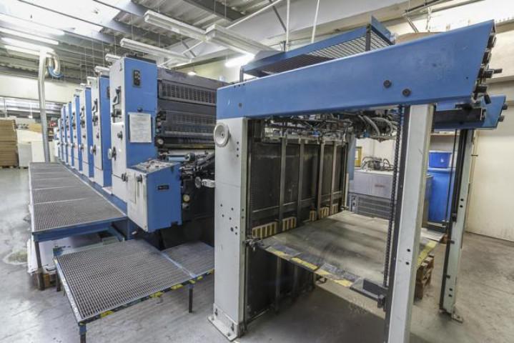 Used  KBA  Rapida 104-6-L Offset Printing Machine