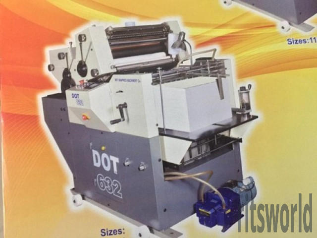 Two Color Mini Offset Printing Machine