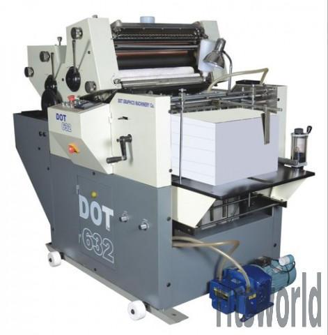 Non Woven Fabric Bag Mini Offset Printing Machine