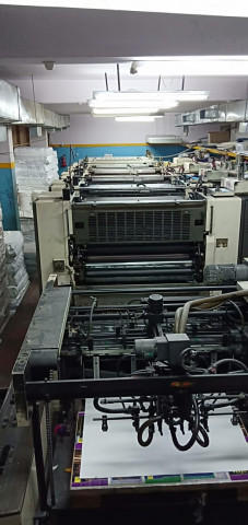 Used Mitsubishi 3F-4-L Offset Printing Machine