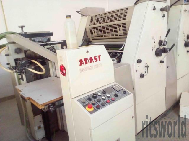 Adast Dominant 725CP, 1998 Offset Printing Machine