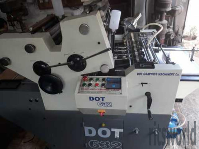 DOT-632 Two Color Mini Offset Printing Machine