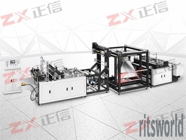 Multi-Functional Non Woven D-Cut Bag Making Machine