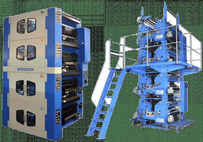 Web Offset Printing Press – 4 High Tower-546mm