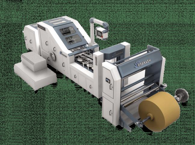 Square Bottom Paper Bag Making Machine-S-PBM 320
