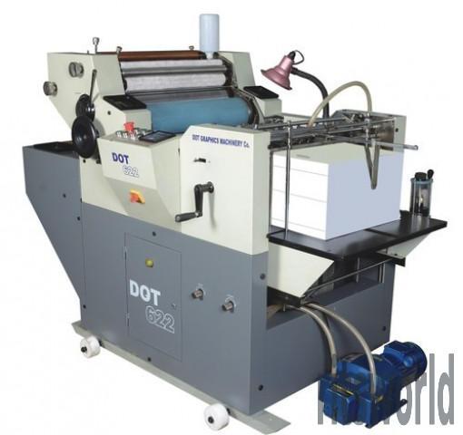 Plastic Bag Mini Offset Printing Machine
