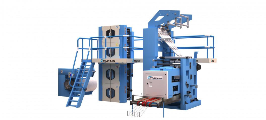 4 Page Newspaper Printing Machine 578mm