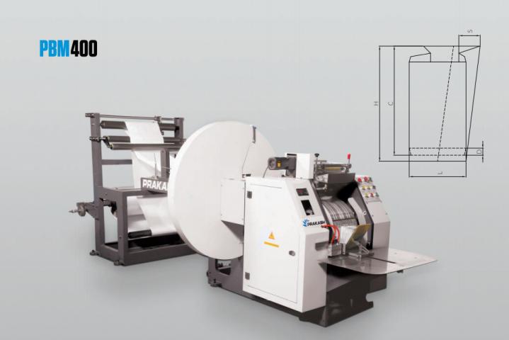 Paper Bag Making Machine PBM 400-1117