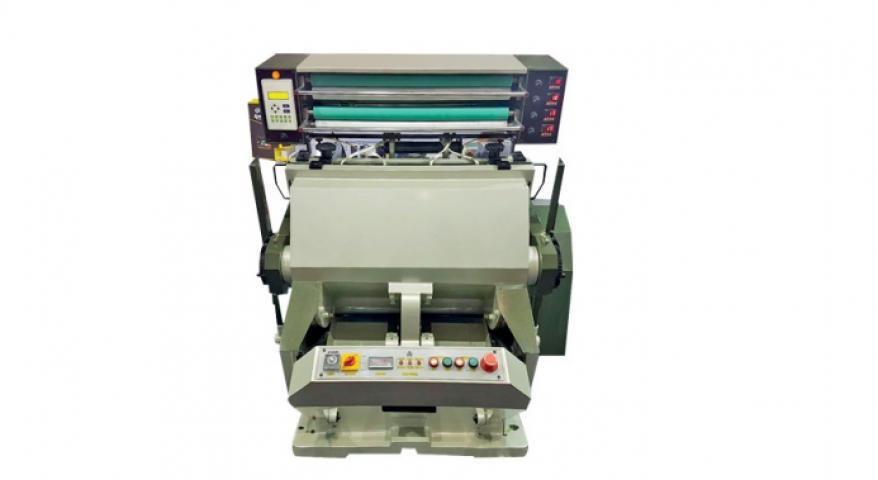 Auto Rewinding Leaf / Foil Printing Machine - 22 x 33