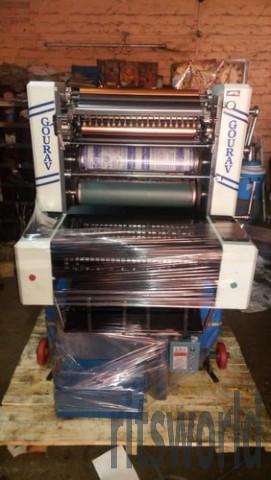Non Woven Bag 16x22 Offset Printing Machine