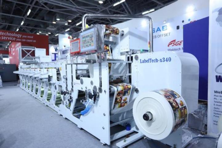 Flexographic Printing Machine LabelTech x 340