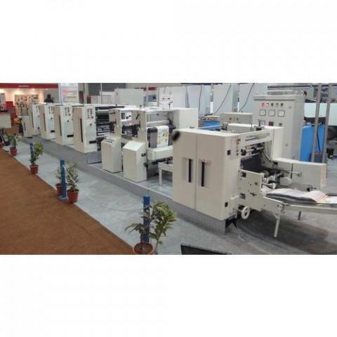 Reel to Sheet Web Offset Printing Machine WT SAB 20