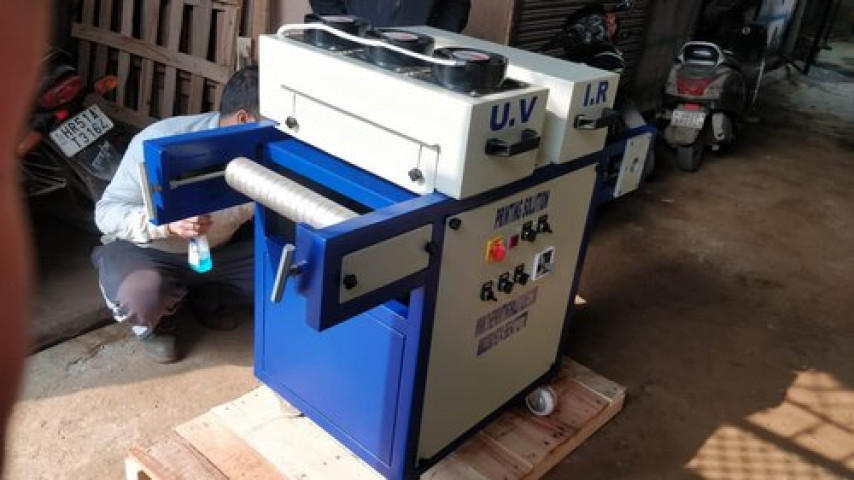 UV Curing Machine For Spot Coating